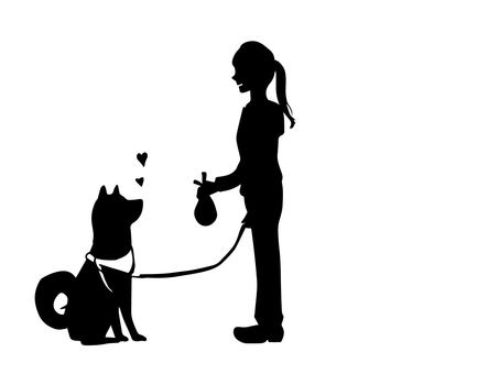 Owner's manners (silhouette)