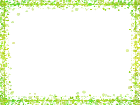 Dot frame 5 (green)