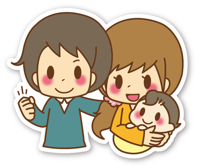 【Seal】 Family * Dad and Mom and Baby _ 01