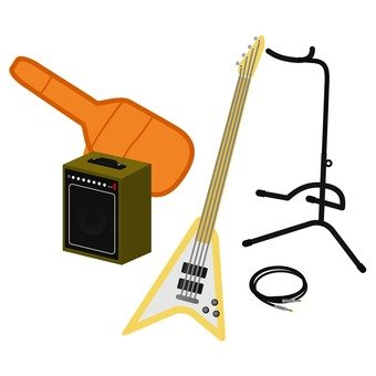 Guitar equipment set 4