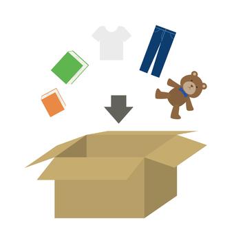 Cardboard clearing set