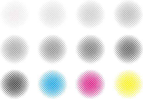 Free Free Material Color Halftone Dot Pattern