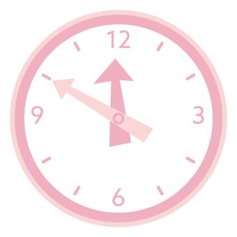 Clock_Pink 2
