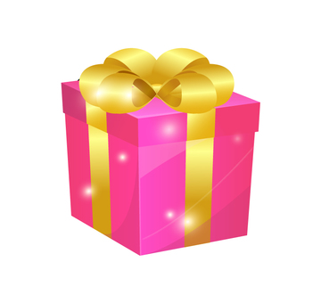 Present · Pink Christmas · For your birthday