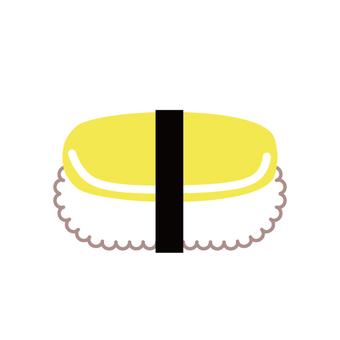 Sushi (lid bird) Tamago