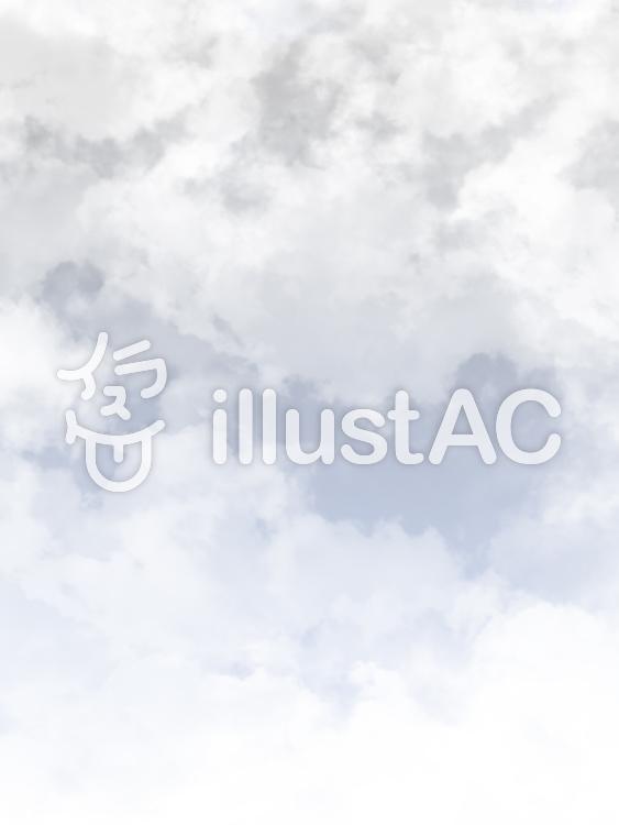 【フリーイラスト素材】寒空・2