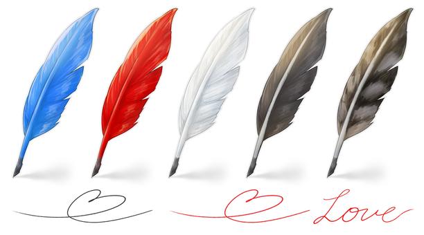 Feather pen (summary)
