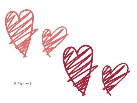Rough heart