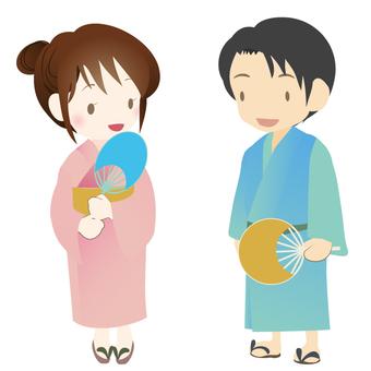 Yukata 2 people 2