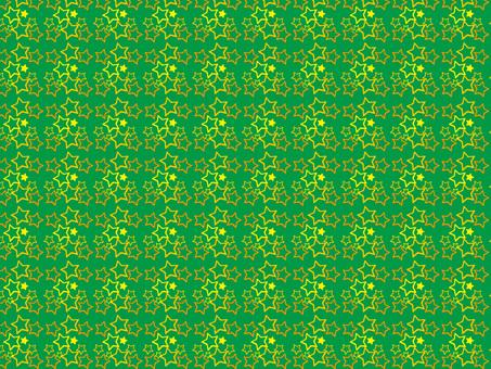 Star pattern (green)