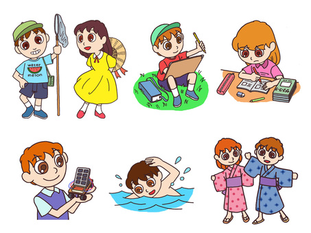 Memories set for summer vacation