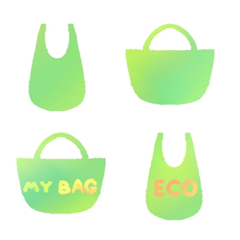 Eco bag set (without outline)
