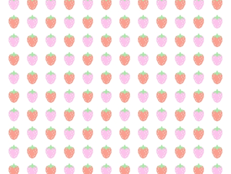 Strawberry (medium) pattern background dot picture