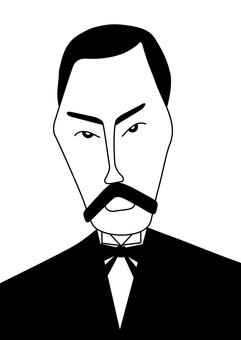 니 이지마 조 (흑백)