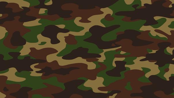迷彩柄 テクスチャ パターン 背景 緑
