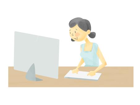 Women internet