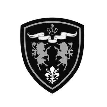 Patch - Unicorn Emblem (Silver)