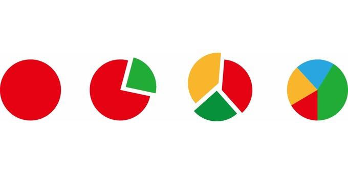Simple circle graph color