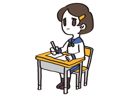 Student (sailor girl) 04