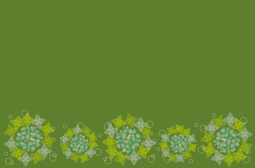 Hydrangea texture