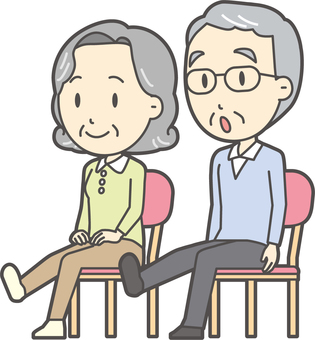 高齢者の生活-007-セット