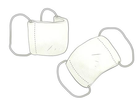 2 cloth masks (A)