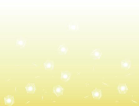 Falling ice (yellow)