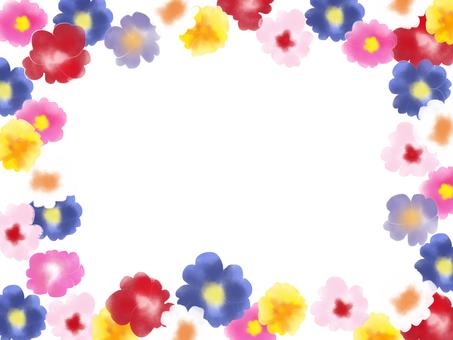 報春花花框架