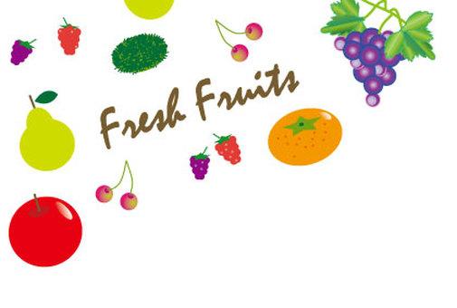 Fruits full of autumn taste hunting