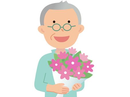 60720. Senior Male, Bouquet