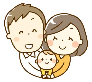 家族_3人家族