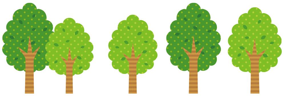 Dot pattern tree