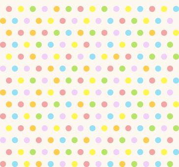カラフルパターン - 丸M