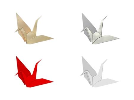 Folding cranes (2011)