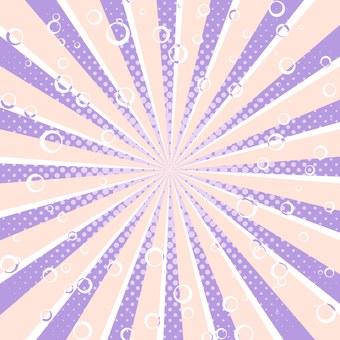 Radial background with foamy feel (grape)