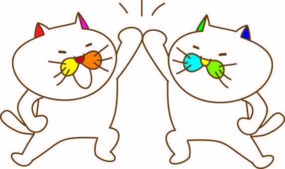 有趣的貓Tamako的高觸感