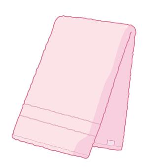 タオル(ピンク)