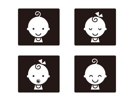 Baby icon [1]