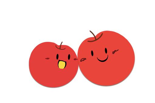 단짝 사과