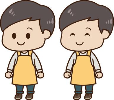 Male apron 02