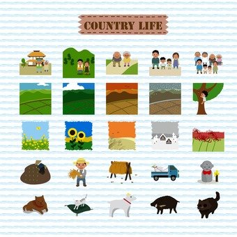 Country living pack