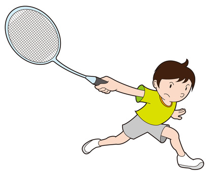 A badminton boy who returned