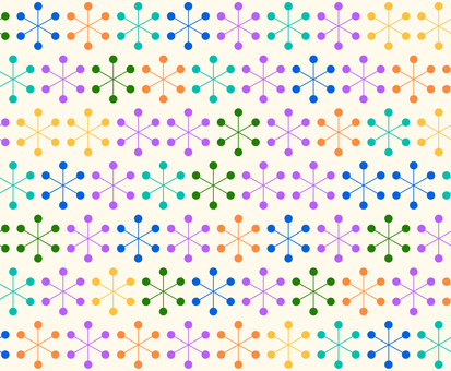 Retro pattern colorful
