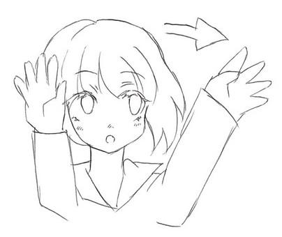 Hold the palm sun (sign language) 2