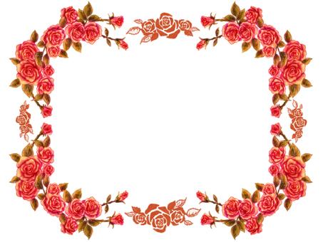 Rose frame 3
