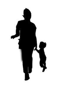 Parent-child's shadow