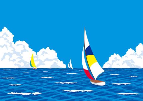 Sea Yacht Summer Dinghy Summer