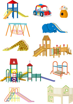 Nursery play equipment set 2