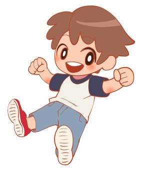 Cheerful boy