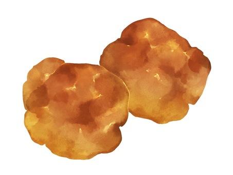 Illustration of fried chicken